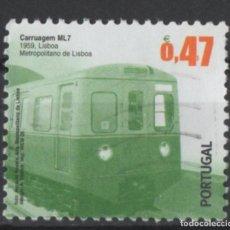 Sellos: PORTUGAL 2009 TRANSPORTE PUBLICO SELLO USADO * LEER DESCRIPCION. Lote 279518553