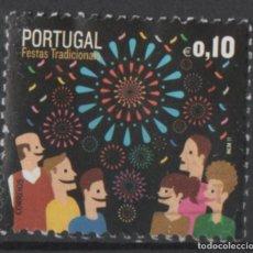 Sellos: PORTUGAL 2012 FIESTAS TRADICIONALES USADO * LEER DESCRIPCION. Lote 279518688