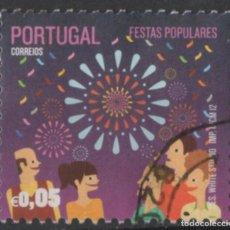 Sellos: PORTUGAL 2012 FIESTAS TRADICIONALES USADO * LEER DESCRIPCION. Lote 279518743
