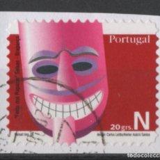 Sellos: PORTUGAL 2006 MASCARAS SELLO AUTOADHESIVO USADO * LEER DESCRIPCION. Lote 279519233