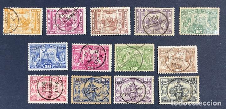 PORTUGAL, 1894. YVERT 96/108. HENRIQUE AVIZ. SERIE COMPLETA. NUEVOS Y USADOS. CON Y SIN FIJASELLOS. (Sellos - Extranjero - Europa - Portugal)