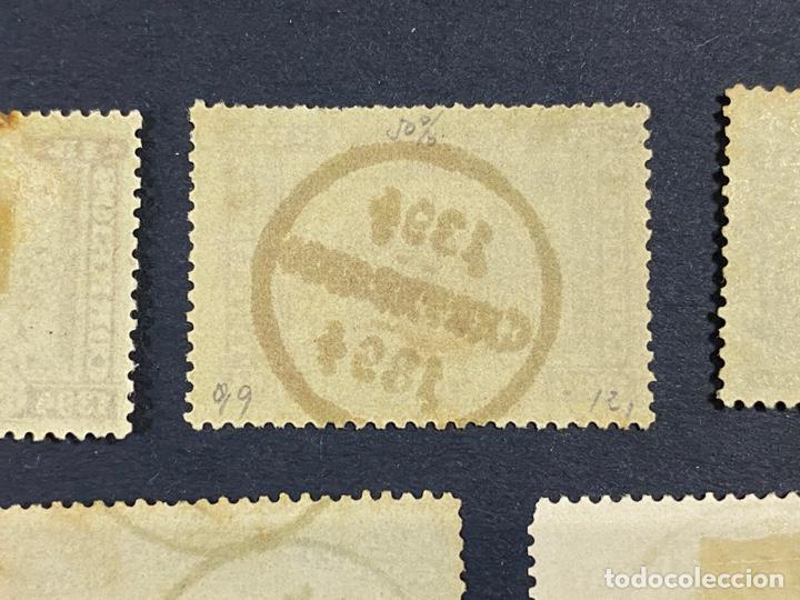 Sellos: PORTUGAL, 1894. YVERT 96/108. HENRIQUE AVIZ. SERIE COMPLETA. NUEVOS Y USADOS. CON Y SIN FIJASELLOS. - Foto 6 - 285965953