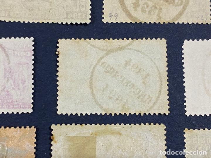 Sellos: PORTUGAL, 1894. YVERT 96/108. HENRIQUE AVIZ. SERIE COMPLETA. NUEVOS Y USADOS. CON Y SIN FIJASELLOS. - Foto 10 - 285965953