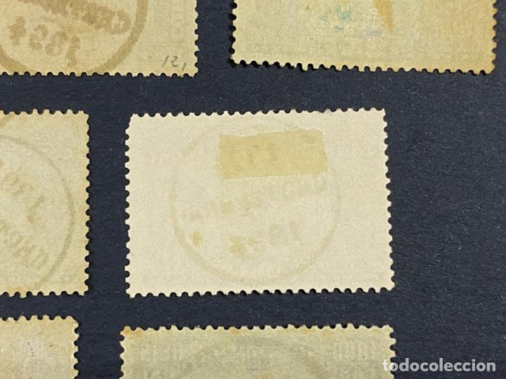 Sellos: PORTUGAL, 1894. YVERT 96/108. HENRIQUE AVIZ. SERIE COMPLETA. NUEVOS Y USADOS. CON Y SIN FIJASELLOS. - Foto 11 - 285965953