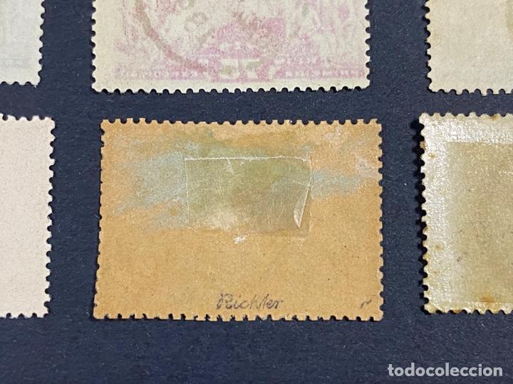 Sellos: PORTUGAL, 1894. YVERT 96/108. HENRIQUE AVIZ. SERIE COMPLETA. NUEVOS Y USADOS. CON Y SIN FIJASELLOS. - Foto 13 - 285965953