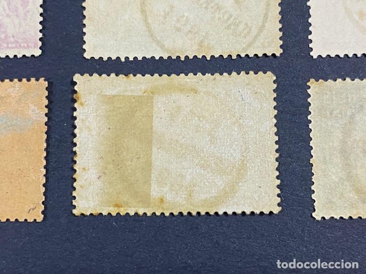 Sellos: PORTUGAL, 1894. YVERT 96/108. HENRIQUE AVIZ. SERIE COMPLETA. NUEVOS Y USADOS. CON Y SIN FIJASELLOS. - Foto 14 - 285965953