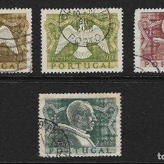 Sellos: PORTUGAL. YVERT NSº 744/47 USADOS Y DEFECTUOSOS. Lote 287181308