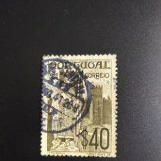 Sellos: ## PORTUGAL USADO 1940 FUNDACION Y RESTAURACION 40##. Lote 287961743