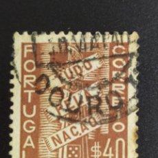 Sellos: ## PORTUGAL USADO 1935 TUDO 40##. Lote 287961978