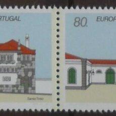 Sellos: 1990-PORTUGAL-SELLOS-SERIE COMPLETA-EUROPA-CEPT. Lote 287976213