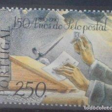 Sellos: 1990-PORTUGAL-SELLOS-SERIE COMPLETA--ANIVERSARIO DEL PRIMER SELLO DE CORREOS. Lote 287977253