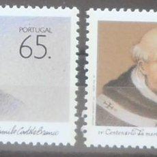 Sellos: 1990-PORTUGAL-SELLOS-SERIE COMPLETA-LITERATOS PORTUGUESES. Lote 287979773