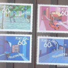 Sellos: 1990-PORTUGAL-SELLOS-SERIE COMPLETA-FELICITACIONES. Lote 287980058