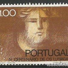 Sellos: PORTUGAL - 1,00 ESCUDOS - IV CENTENARIO DE OS LUÍSADAS - USADO. Lote 288726363