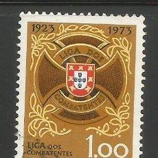 Sellos: PORTUGAL - 1,00 ESCUDOS - 50 ANIVERSARIO DE LIGA DE COMBATES - USADO. Lote 288727863