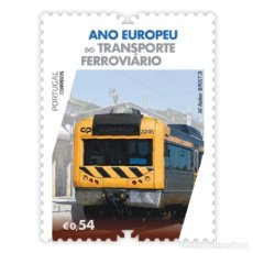 Sellos: PORTUGAL ** & AÑO EUROPEO DEL TRANSPORTE FERROVIARIO 2021 (3427). Lote 289402033