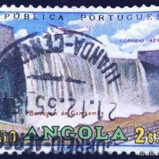 Sellos: MICHEL AO 515 - PORTUGAL - ANGOLA - CAMBAMBE DAM - 1965. Lote 289426213