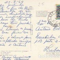Sellos: PORTUGAL & CIRCULADO, VILA REAL DE SANTO ANTONIO, PLAYA DE MONTE GORDO, LISBOA 1969 (86). Lote 289436348