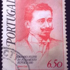 Sellos: MICHEL PT 1462 - PORTUGAL - 1979 - GREAT FIGURES OF REPUBLICAN THOUGHT (I) - AFONSO COSTA. Lote 289448038