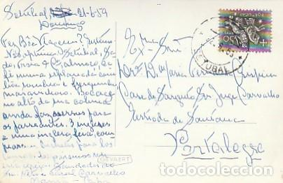 PORTUGAL & CIRCULADO, IGREJA DE JÉSUS INTERIOR, ED. AMÉRICO RIBEIRO, PORTALEGRE 1959 (681) (Sellos - Extranjero - Europa - Portugal)