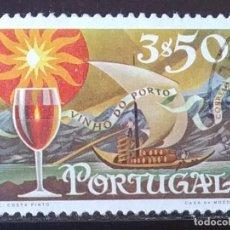 Sellos: SELLO DE PORTUGAL VINO DE OPORTO (MATASELLADO). Lote 289898983