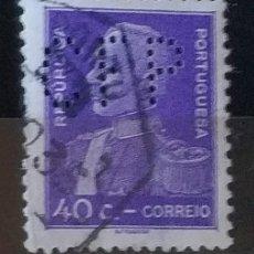 Sellos: SELLO DE REPUBLICA PORTUGUESA (MATASELLADO). Lote 290003918