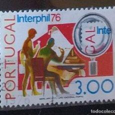 Sellos: SELLO DE PORTUGAL INTERPHIL 76 (MATASELLADO). Lote 290004108