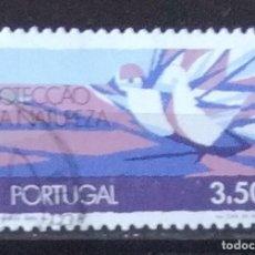 Sellos: SELLO DE PORTUGAL PROTECCION DE LA NATURALEZA (MATASELLADO). Lote 290005403