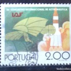 Sellos: SELLO DE PORTUGAL 26 CONGRESO INTERNACIONAL DE ASTRONAUTICA (MATASELLADO). Lote 290005713