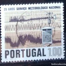 Sellos: SELLO DE PORTUGAL SERVICIO METEOROLOGICO NACIONAL (MATASELLADO). Lote 290006253