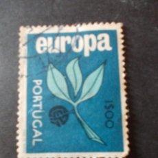 Sellos: SELLO PORTUGAL. EUROPA. FRUTA AZUL. 1$00 KARLSSON 1965. Lote 291409683