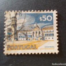 Sellos: SELLO PORTUGAL. UNESCO MONUMENTOS. UNIVERSIDAD DE COIMBRA $50 1976. Lote 291412198