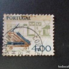 Sellos: SELLO PORTUGAL. DESARROLLO DE TECNOLOGÍA. ESCRITORIO Y ORDENADOR 4$00 1978. Lote 291413798