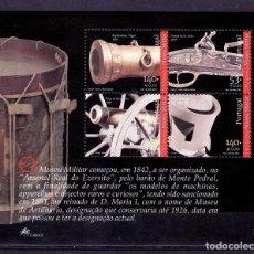 Sellos: TEMA PORTUGAL 2001 HB 176 MUSEO MILITAR B. Lote 294576778