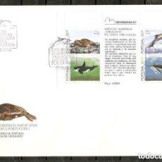 Sellos: PORTUGAL.1983. FDC. HB. YT 42. FAUNA MARINA.. Lote 295607313