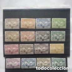 Sellos: PORTUGAL - 1923 - TRAVESIA ATLANTICO - 257/272 YVERT - MH. Lote 295866958