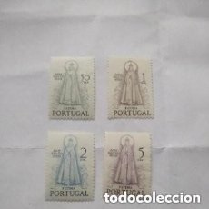 Sellos: PORTUGAL - 1950 - AÑO SANTO - YVERT 730/733 - MH - SERIE COMPLETA. Lote 295867108