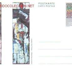Sellos: LIECHTENSTEIN ARTE: OLEO DE MARTIN FROMMELT. Lote 85240