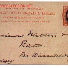 Sellos: 7-628. POST CARD GRAN BRETAÑA-IRLANDA. ENTERO POSTAL. Lote 8094806