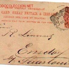 Sellos: 7-629. POST CARD GRAN BRETAÑA-IRLANDA. ENTERO POSTAL. Lote 8094803