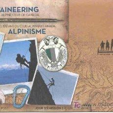 Sellos: CANADA 2006.- SOBRE PRIMER DIA.- 100 AÑOS DE LA ASOCIACION DE ALPINISMO DE CANADA. Lote 3315953
