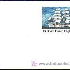 Sellos: USA 1978 ENTERO POSTAL COAST GUARD EAGLE. Lote 6378758