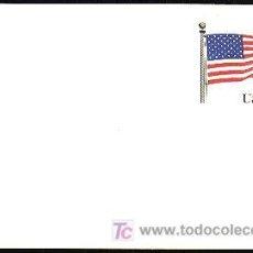 Sellos: USA 1987 ENTERO POSTAL STARS AND STRIPES. Lote 6378926