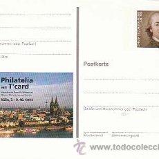 Sellos: ALEMANIA IVERT Nº 1577, JOHANN GOTTFRIED HERDER, FILOSOFO, TEOLOGO Y POETA, ENTERO POSTAL. Lote 14124177