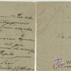 Sellos: 1907 ANTIGUO Y RARO ENTERO POSTAL DE TUNEZ, COLONIA FRANCESA, CIRCULADO A PALAMOS, GERONA.. Lote 27295168