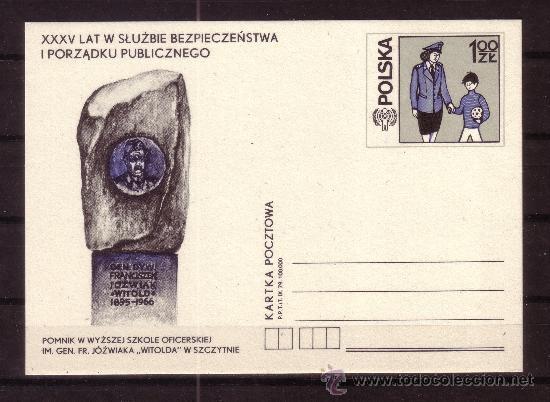 POLONIA - AÑO 1979 - AÑO INTERNACIONAL DEL NIÑO (Sellos - Extranjero - Entero postales)
