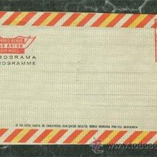 Selos: SOBRE AEROGRAMA CON FRANQUEO MECANICO. Lote 36723228