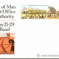 Sellos: ISLE OF MAN 1983. Lote 37257269