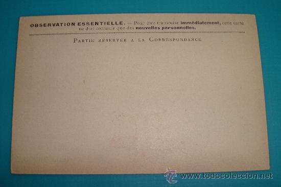 Sellos: TARJETA POSTAL DE LOS EJERCITOS DE LA REPUBLICA, CON BANDERAS DE LOS ALIADOS PRIMERA GUERRA MUNDIAL - Foto 2 - 37617322