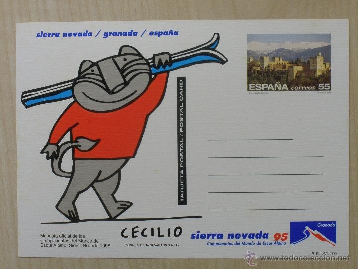 TARJETA POSTAL - 1994 - EDIFIL 158 - GRANADA (Sellos - Extranjero - Entero postales)
